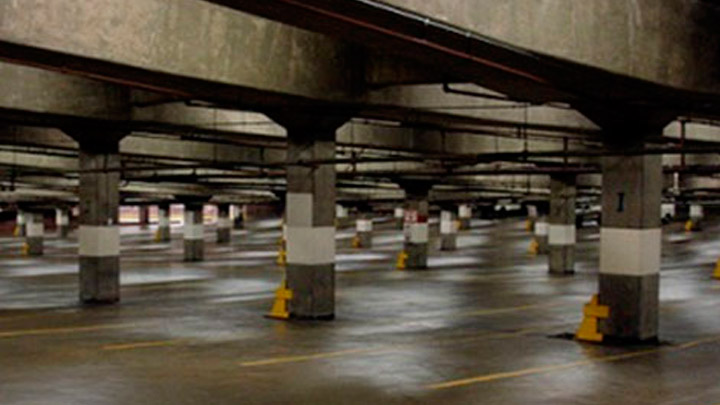 Car park light uniformity