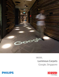 Fallstudie Google Singapore Luminous Carpets